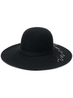 шляпа-трилби с кристаллами Swarovski Eugenia Kim