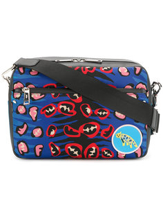 сумка на плечо с принтом Fendi