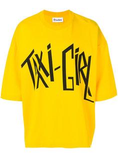 Desert Taxi Girl T-shirt Études