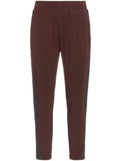 спортивные брюки с полосками по бокам Lot78