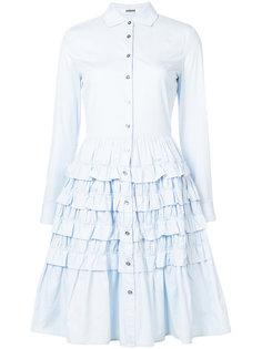 ruffled shirt dress Jourden