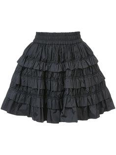 ruffled mini skirt Jourden