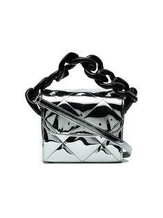 стеганая  сумка на плечо с цепочной деталью Marquesalmeida