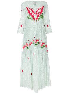 платье с V-образным вырезом Potion Temperley London