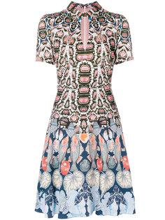 мини-платье с принтом Spiral Temperley London