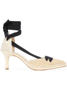 туфли с завязками на щиколотке Castañer