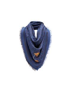 шарф с принтом логотипа FF Fendi