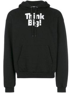 Think Big printed hoodie Balenciaga