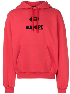 худи Europe Balenciaga