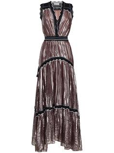 платье без рукавов со складками  Peter Pilotto