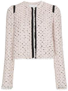 твидовая куртка с полосками  Giambattista Valli