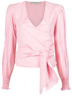 Kenia wrap style shirt Martha Medeiros