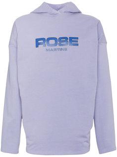 толстовка с капюшоном и логотипом Martine Rose