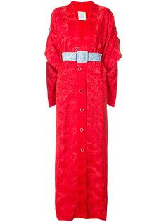 длинное платье-кимоно Rosie Assoulin