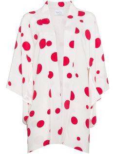 кимоно с красным принтом  Racil
