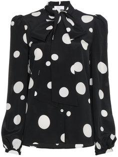 блузка с завязкой на вороте Lady Racil