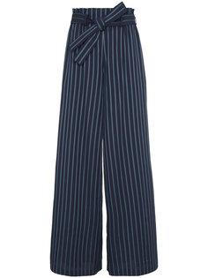 широкие брюки с полосками Paloma Osman