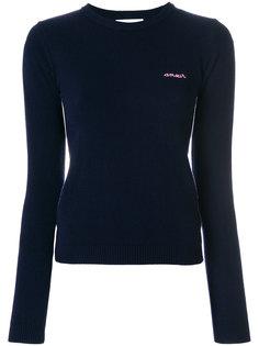 вязаный свитер узкого кроя Maison Labiche