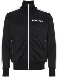 спортивная куртка с полосами и логотипом Palm Angels