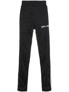спортивные брюки с лампасами и логотипом Palm Angels