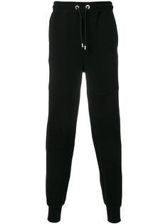 спортивные брюки с заплаткой с логотипом Versus