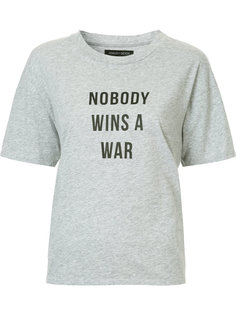 футболка Nobody Wins A War Nobody Denim