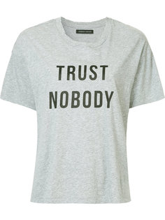футболка Trust Nobody Nobody Denim