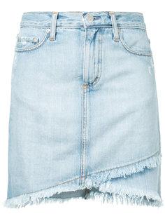 прямая джинсовая юбка Nobody Denim