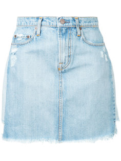 джинсовая юбка А-силуэта Nobody Denim