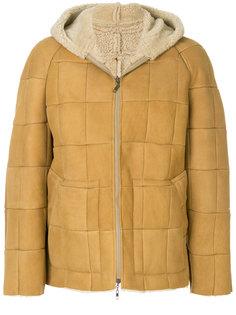 дутая куртка с капюшоном  Maison Margiela