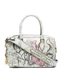 сумка-тоут с кроликами Prada