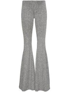 расклешенные брюки с металлическим отблеском Filles A Papa