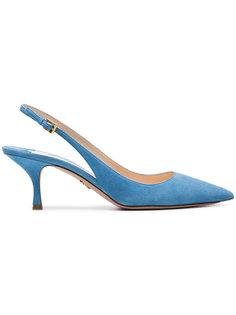 туфли-лодочки с открытой пяткой Prada