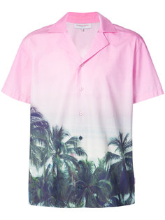 рубашка с принтом пальм Orlebar Brown