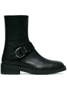 ботинки с пряжкой сбоку Ann Demeulemeester