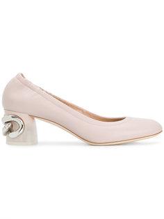 туфли-лодочки с цепочной деталью Casadei