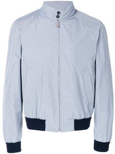 куртка в клетку Prada