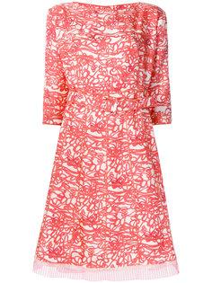 расклешенное платье с принтом Marc Jacobs