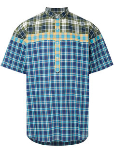 shortsleeveled checked shirt Kolor