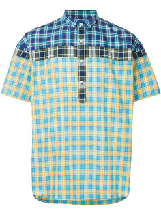 shortsleeved checked shirt Kolor