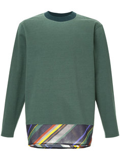 striped sweatshirt Kolor