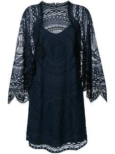 кружевное платье шифт  Chloé