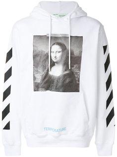 толстовка с капюшоном Mona Lisa Off-White