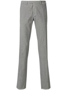 зауженные брюки строгого кроя Delloglio