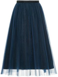юбка миди из тюля Muveil