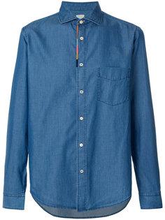 джинсовая рубашка с карманом Paul Smith