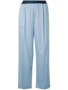 прямые брюки с полосками по бокам Astraet