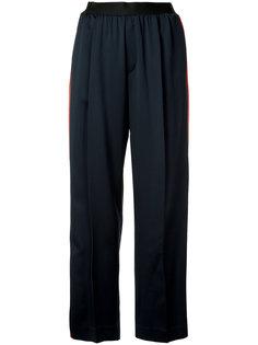 широкие брюки с полосками по бокам Astraet