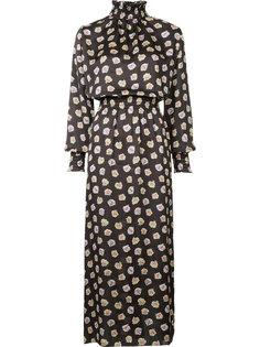 длинное платье с V-образным вырезом Astraet