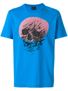 футболка с абстрактным принтом черепа Ps By Paul Smith